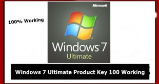 windows 7 ultimate product keys
