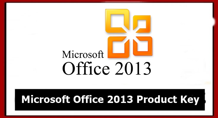 ms office 2013 peroduct key