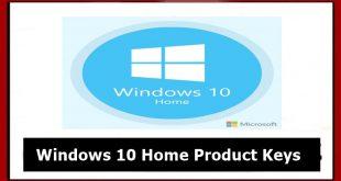 Windows 10 Home Product Keys