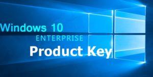 Windows 10 Enterprise Product Key