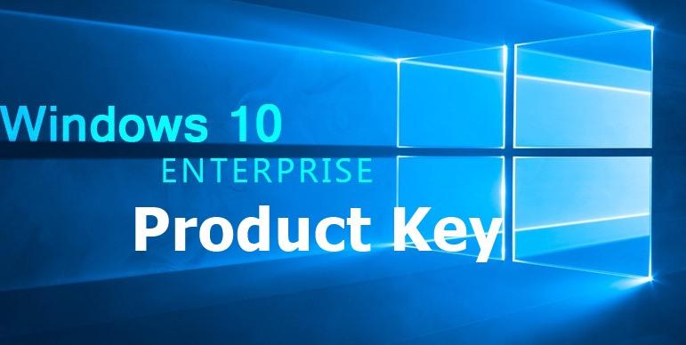 Windows 10 Enterprise Product Key Activation Key Free [100