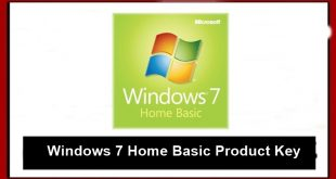 Windows 7 Home Basic product keys