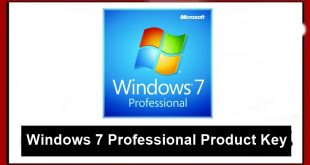 Windows 7 Professional produc keys