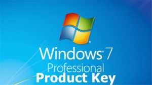 free product key code for windows 7