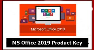 MS Office 2019 Product Key free